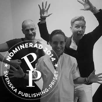 3 x finalist i Publishingpriset