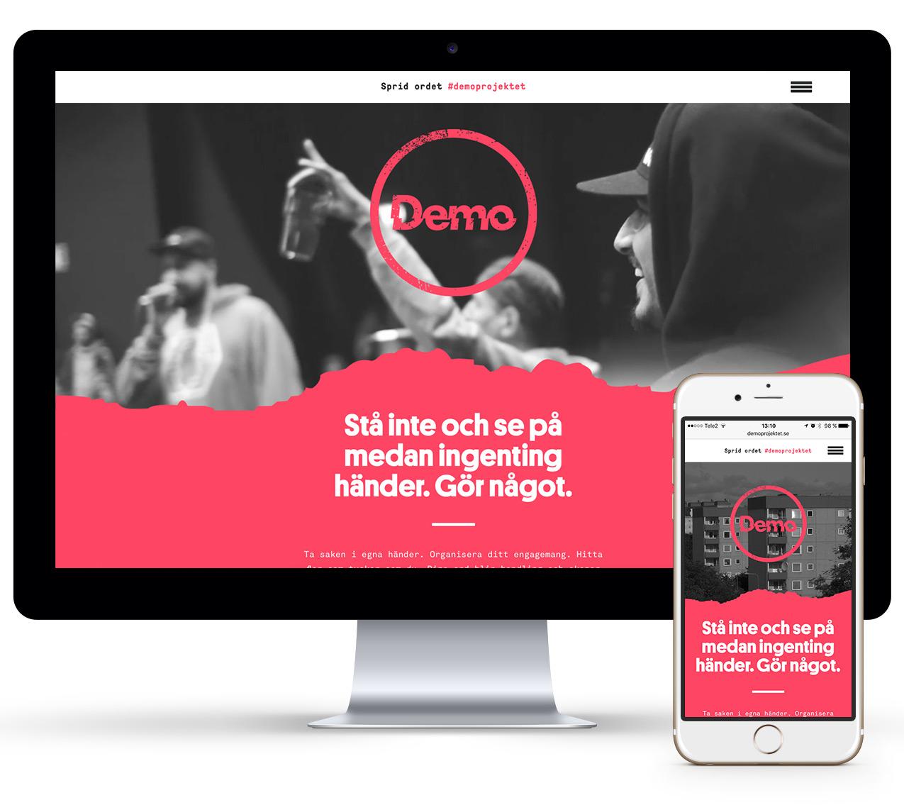 Demo Wonderfour webbyrå