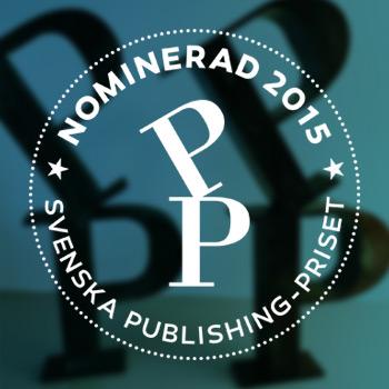 2 x nominerade i  Publishingpriset