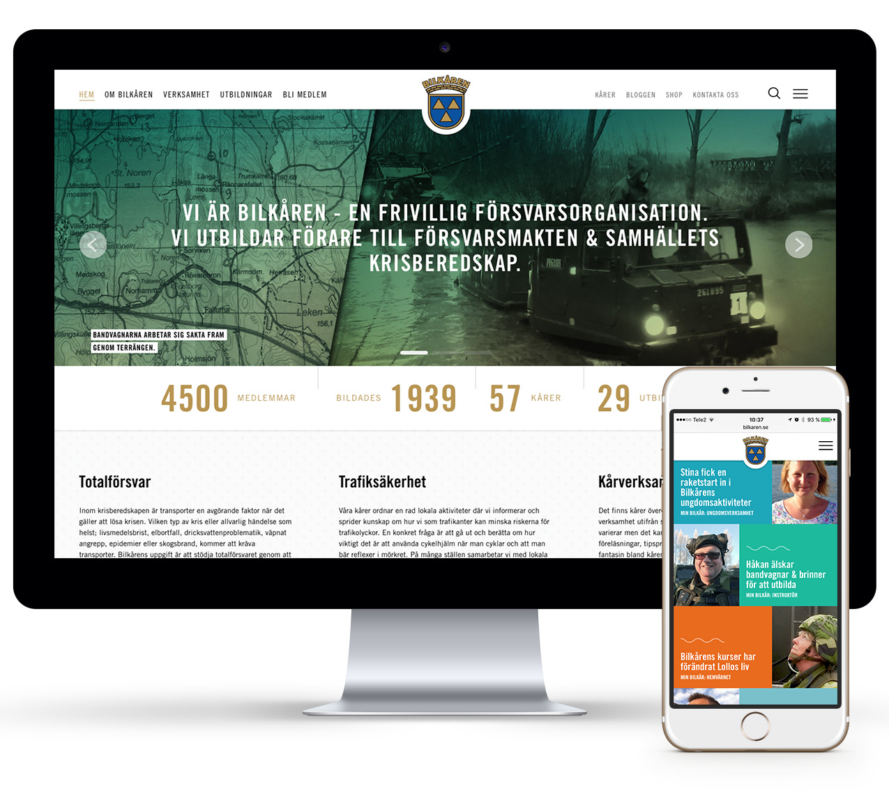 Bilkåren Wonderfour webbyrå