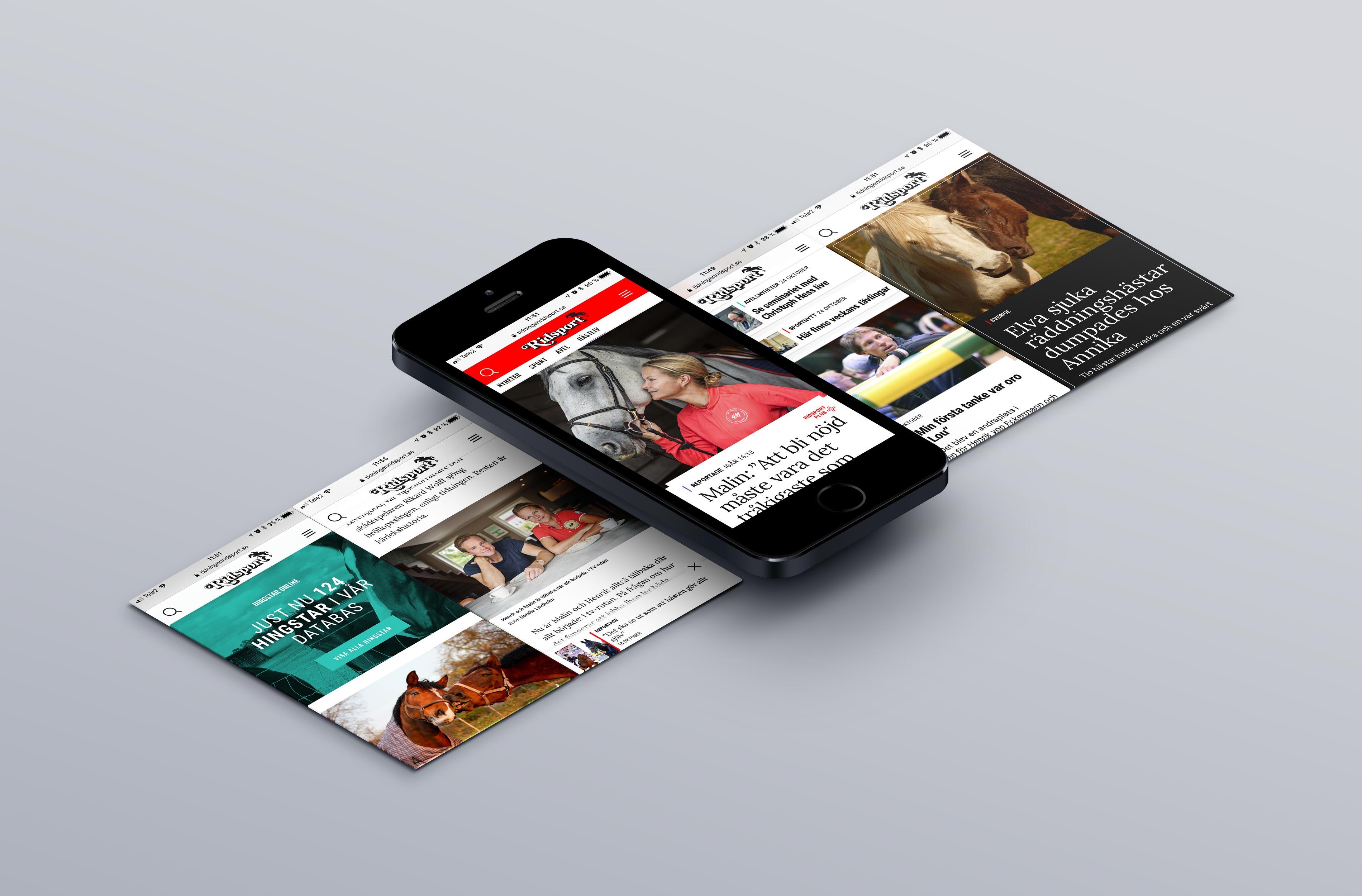 digital tidning ridsport
