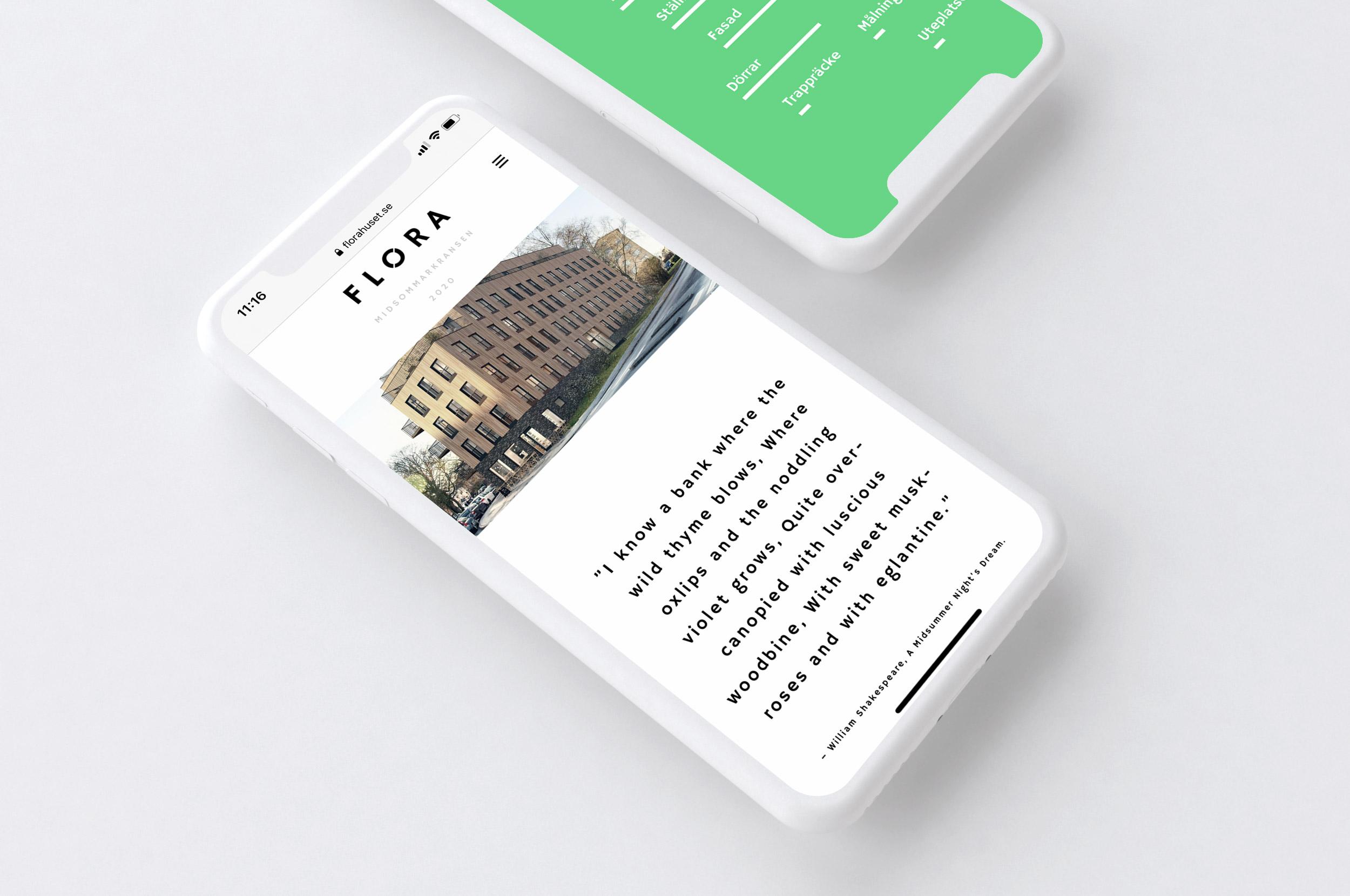 Flora bostadsrätter Wonderfour digital