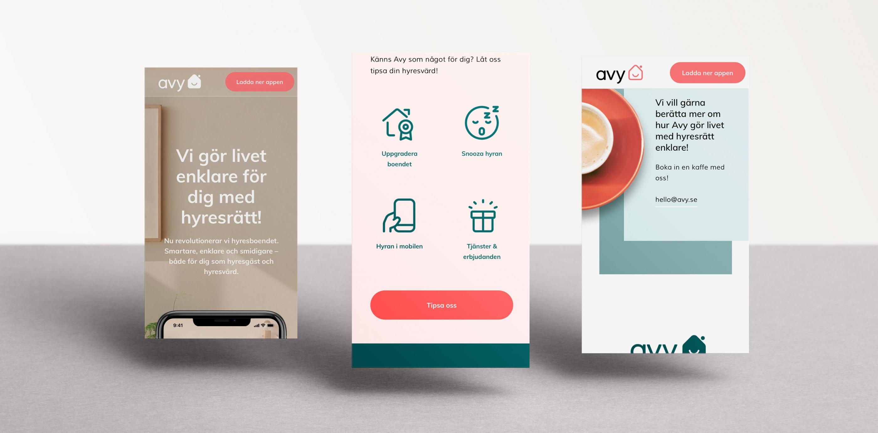 Avy app Wonderfour