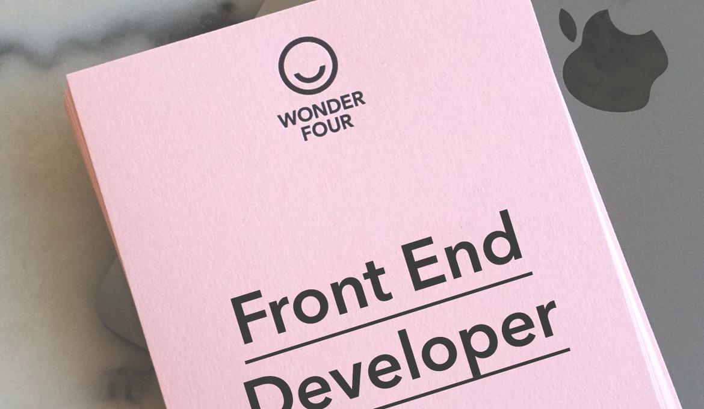 Sökes: Front End Developer