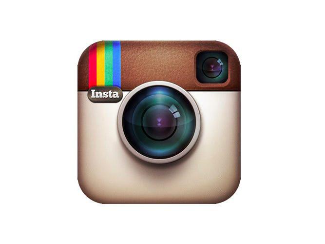 Instagram klassisk symbol logotyp ikon